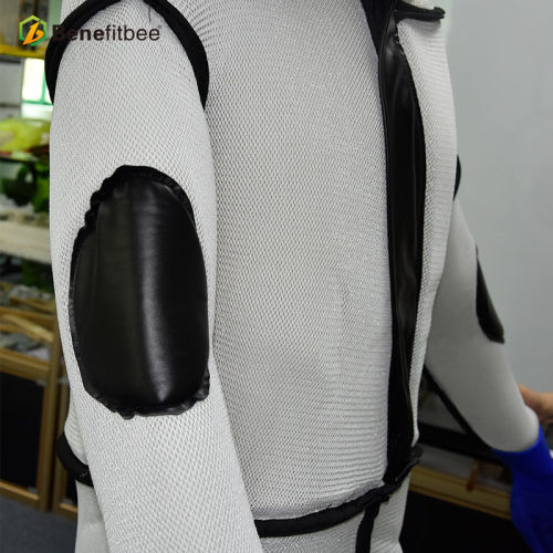 厂家直销养蜂防护工具-透气马蜂服(白色加厚)批发定制