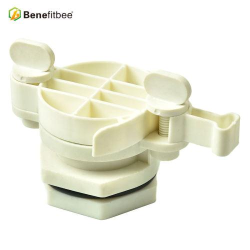 厂家直销养蜂工具蜜蜂欧式全塑出蜜口(白色)蜂具批发定制