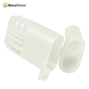 No Graft Square Queen Rearing Plastic Queen Cage For Beekeeping Tools