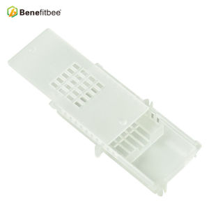 Mailable Beekeeping Equitment Square White Plastic Queen Cage For Queen Rearing