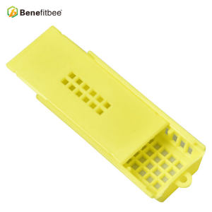 Cheap Square Yellow Beekeeping Equitment Plastic Queen Cage