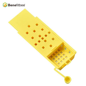 High Quality Square Yellow Beekeeping Equitment Plastic Queen Cage
