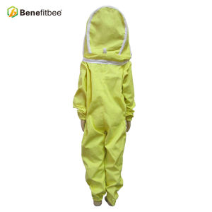 Yellow Breathable Screen Cloth Children Protective Suit For Beekeeping Equitment