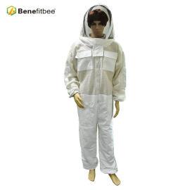 Front Open Type Zippers Beekeeping Equitment Screen Cloth Protective Suit