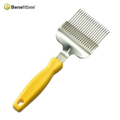 厂家直销养蜂工具蜂蜜19针不锈钢割蜜叉 蜂具配件批发