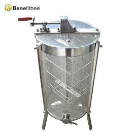 厂家直销养蜂工具不锈钢2框手动摇蜜机(透明)批发定制