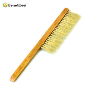 Beekeeping Equitment One Bristles Rows Wooden Handle Bee Brushes For Beekeeping Supplies