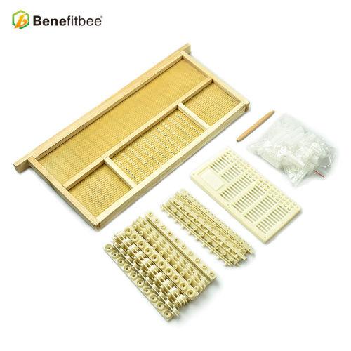 厂家直销 养蜂工具中蜂免移虫育王器 蜂具育王配件全套批发