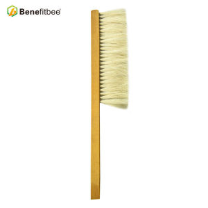 Brosses en bois d'abeille de poignée de crin une rangée de rangée pour des outils d'apiculture