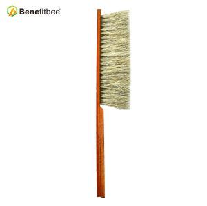 Пчелиные инструменты Двойные ряды Красная деревянная ручка Щетки для пчел Используйте для пчелиного каркаса