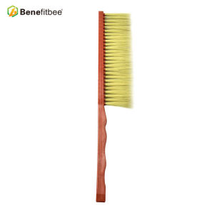 One Rows Plastic Handle Horsehair Bee Brushes For Beekeeping Equitment
