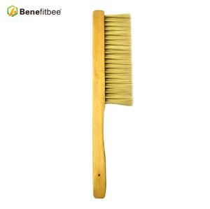 Brosses en plastique d'abeille de cheveux de poignée en bois de double rangée pour le fabricant d'apiculture