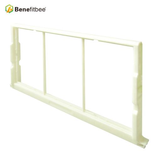 厂家直销出口型养蜂工具蜂具免埋线塑料巢框巢础 蜜蜂蜂箱农用工具