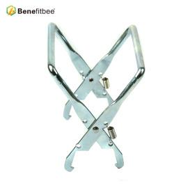 厂家直销养蜂工具出口镀锌铁提脾夹(长口)蜂具配件批发