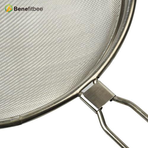厂家直销养蜂工具 精细过滤筛蜂具不锈钢羊角过滤网 蜂具批发