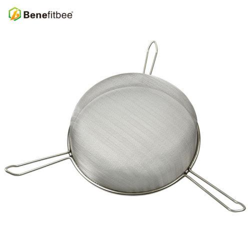 厂家直销养蜂工具 精细过滤筛蜂具不锈钢三角过滤网 蜂具批发