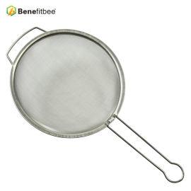 厂家直销养蜂工具 精细过滤筛蜂具不锈钢手柄式过滤网 蜂具批发