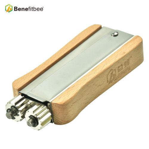 厂家直销养蜂工具不锈钢紧丝器(带logo) 蜂具批发