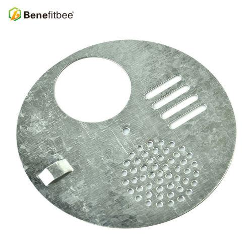 厂家直销养蜂工具-养蜂专用圆形金属旋转巢门 五金蜂具批发