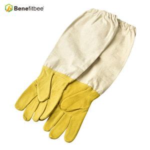 Hochwertige weiße Canves Schutzhandschuhe für Imkerei Werkzeuge