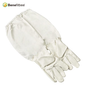 Wholesales Promotional Leatheroid Beekeeping Tools Protective Gloves