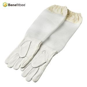 Оптовые ткани с длинным экраном Защитные перчатки для инструментов для пчеловодства
