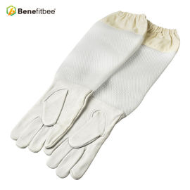 Wholesales Length Screen Cloth Protective Glovers For Beekeeping Tools