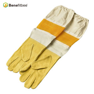 Nouveaux gants protecteurs de colth d'écran respirable de conception américaine pour des outils d'apiculture