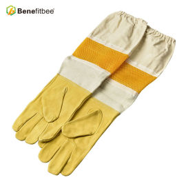 New Design American Breathable Screen Colth Protective Gloves For Beekeeping Tools