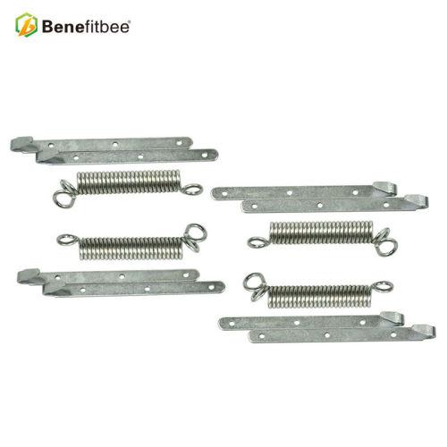 厂家直销养蜂工具连接扣式钢丝连接器四簧八勾  -五金蜂具批发