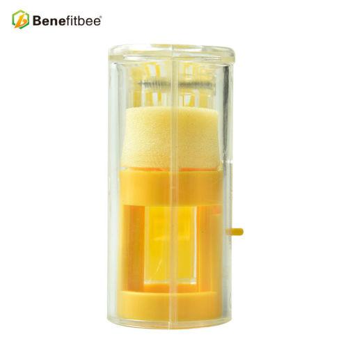 厂家直销养蜂工具 蜂王标记瓶(瓶形黄色) 供应蜂具配件批发