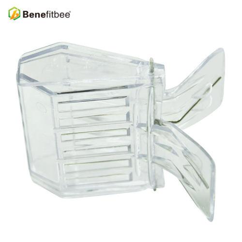 厂家直销养蜂工具 蜂王书夹式王笼(PC) 供应蜂具配件批发