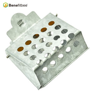 厂家直销养蜂工具 蜂王书夹式王笼(金属) 供应蜂具配件批发