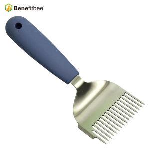 Équipement d'apiculture prix inférieur 304 BeeKeeper d'acier inoxydable utilisé Forks de miel de déshabillage
