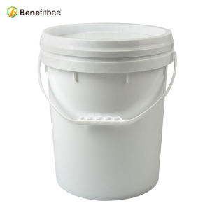 (America style)18 liters plastic beekeeping supplies honey pail/bucket with thickened body