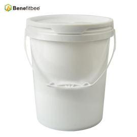 20 liters plastic beekeeping supplies honey pail/bucket with thickened body