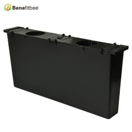 Customized 4kg Black Plastic Squre 483*55*220mm inch Bee Feeder With Beekeeping Supplies