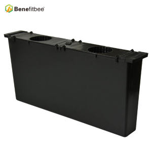 Customized 4kg Black Plastic Squre 483*55*220mminch Bee Feeder With Beekeeping Supplies