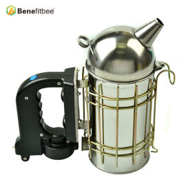 Wholesale Stainless Steel Round-Outlet Electric Bee Smoker Beekeeping Tool