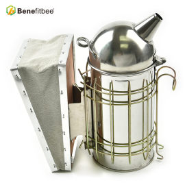 Beekeeping Tools Stainless Steel Manual Bee Smoker For Beekeeping Supplies