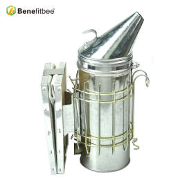 Beekeeping Equipment  Stainless Steel  Bee smoker(Size-L)Increase The Height  For Beekeeper