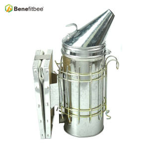 Beekeeping Tools Stainless Steel  Bee smoker(Size-L)Increase The Height Galvanized For Beekeeping Supplies