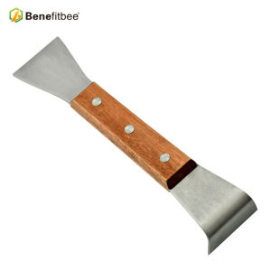 OEM Sheet Metal Stamping Bee Hive Tool Stainless Steel Hive Tool With Wooden Handle