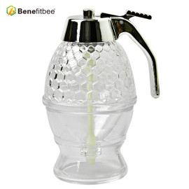 Good Quality Honey Dispenser Pump Honey Bee Drink Honey Dispenser Hive Jar For Hotel