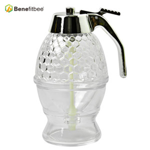 Good Quality Honey Dispenser Pump Honey Bee Drink Honey Dispenser Hive Jar For Hotel