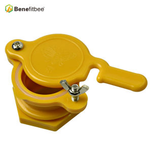 Honey extractor tool yellow ABS material honey gate for beekeeping equipment