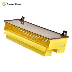 Beekeeping Plastic Pollen Trap Yellow with Removable Ventilated Pollen Tray Pollen Collector Supplies Tools