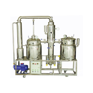 Stainless Steel Honey Concentrator / Vacuum Honey Processor 1 ton original flavor reflux concentrator