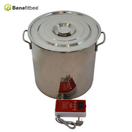Good Quality 25KG Melting Wax Bucket Stainless Steel Honey Tank With Honey Gate for Beekeeping Equipment
