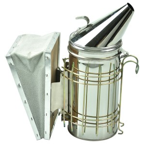 High Quailty Beekeeping Equipment  Stainless Steel  Bee smoker(Size-S)  For Beekeeper